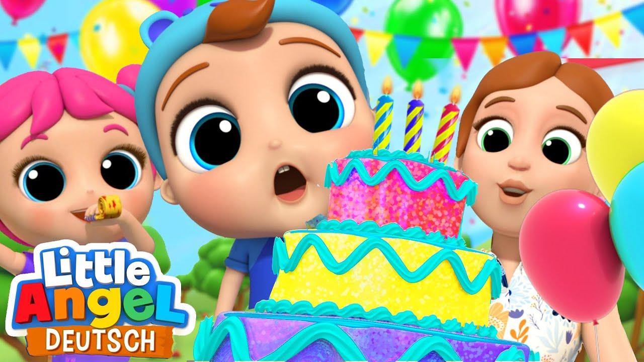 Geburtstagslied 🎂🎉| Heute ist dein Geburtstag! | Little Angel Deutsch - Kinderlieder