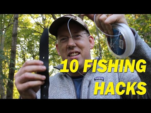 10 Best Fishing Hacks