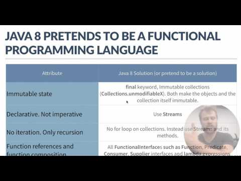 Is java 8 trying to be a functional language?