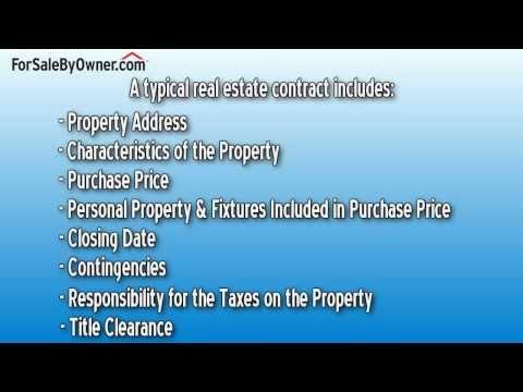 Understanding Contracts & Paperwork - ForSaleByOwner.com