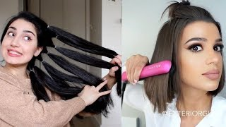 Download Amazing DIY Hairstyles Tutorial Compilation | Back To School Heatless Hairstyles Video