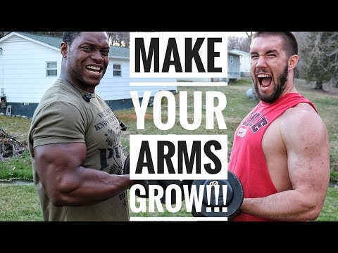 14 Minute Bicep & Tricep Workout For Bigger Arms!!!