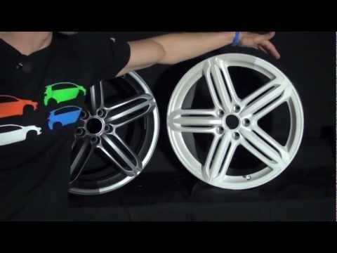Plasti Dip Pearlizer on Wheels