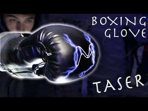 How To Make Electric Boxing Gloves!!! - 300 Million Volts, $15