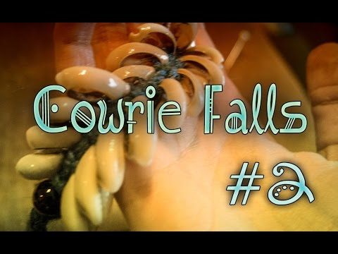 {CRAFT} How to make a Cowrie / Kauri Fall (2 set Version)