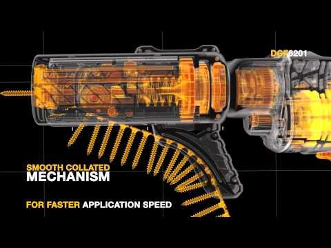 DEWALT DCF620 XR 18V Brushless Collated Screwdriver