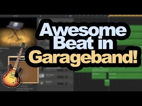 How to Make a Beat in Garageband (Tutorial)