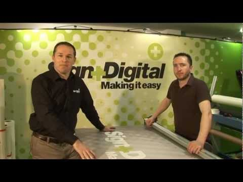 Sign and Digital: How to Make a Banner with Double Sided Tape