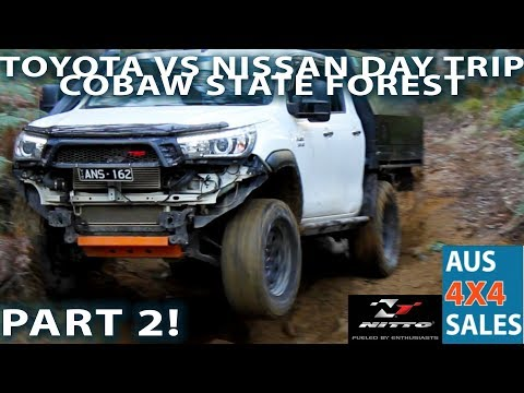 Hilux VS Patrol - IFS Beats SAS ?  - Toyota VS Nissan Cobaw State Forest Day Trip - Part 2