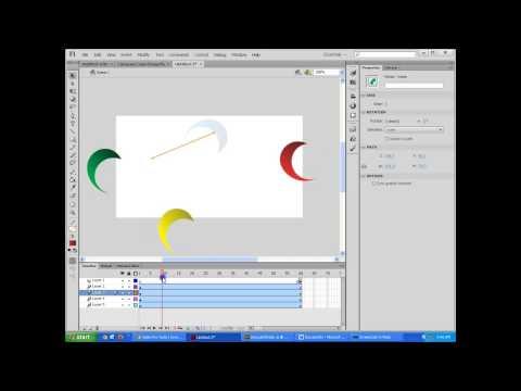 Flash CS6 Tutorial - Create an animated banner