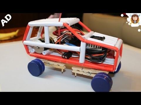 How to Make a Powerful Car -  RC Paper Car