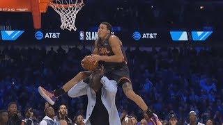 Gordon Jumps Over 7'5 Tacko Fall! Loses to Jones Jr! 2020 NBA Slam Dunk Contest