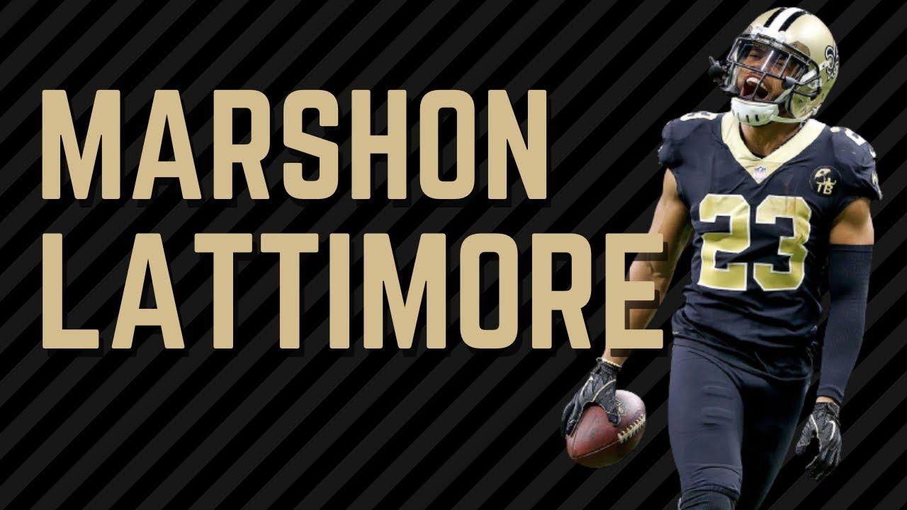 Marshon Lattimore, CB - Full 2020 Highlights