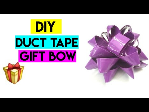 EASY DIY Duct tape gift bows | Crafty Phoenix