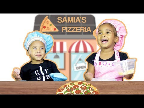 TODDLER MAKES PIZZA FOR PARENTS DATE NIGHT