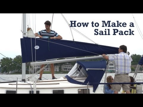 How to Make a Sail Pack for Your Boat