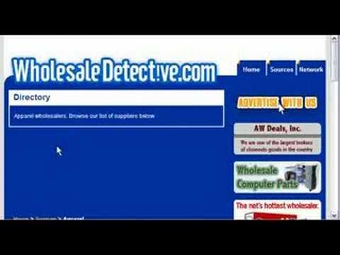 Wholesale Apparel - Apparel Wholesalers Directory