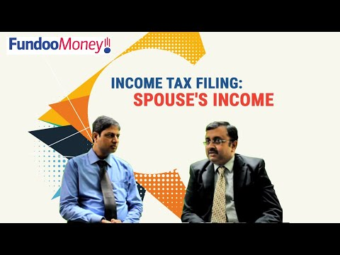 Income Tax Filing: Spouse's Income