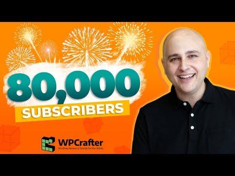 80K Subscribers 🔥 THANK YOU 🙌 & Upcoming Videos & CartFlows News