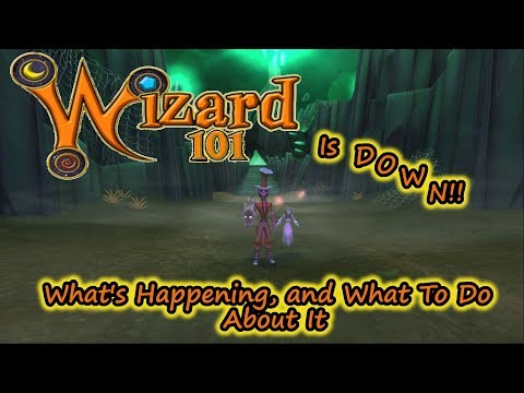 Wizard101 Is DOWN - Whats Happening and What To Do - DDOS FLOOD FIRE DISASTER