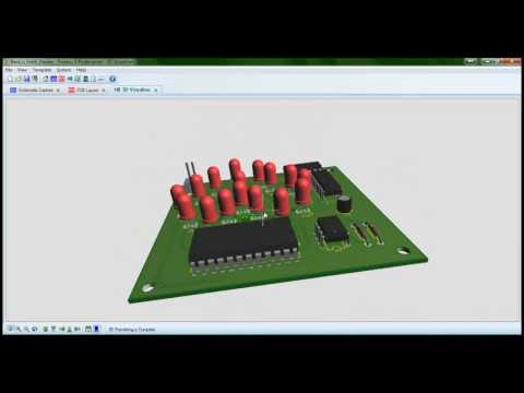 Making a Schematic and PCB in Proteus
