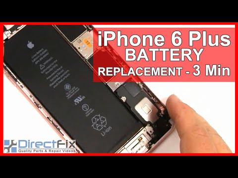 How to iPhone 6 Plus Battery Replacement done in 3 minutes
