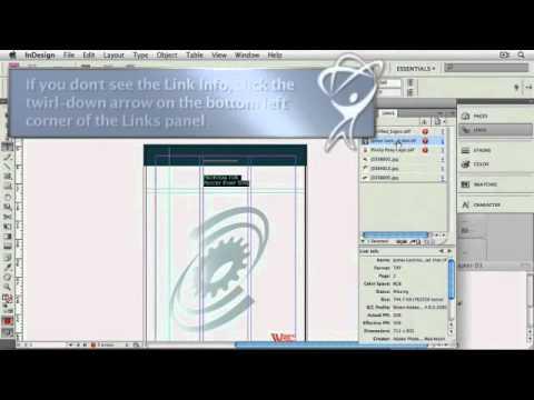 InDesign Tutorial: Replacing Fonts & Updating Photos