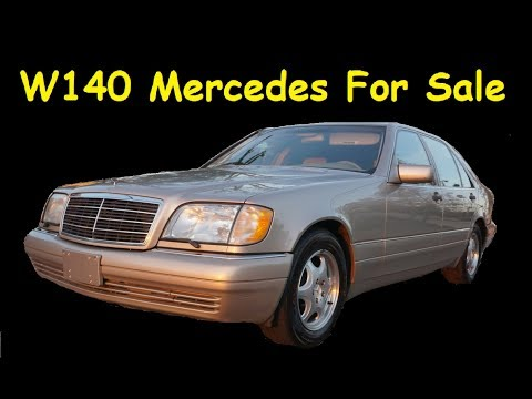 W140 MERCEDES BENZ FOR SALE ~ S420 S-CLASS SEDAN VIDEO