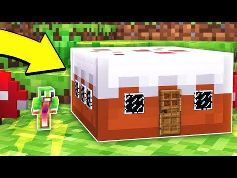 HOW TO LIVE INSIDE A CAKE IN MINECRAFT! *TROLLED!*
