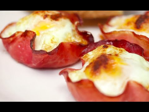 How to Make Eggs in Ham Cups