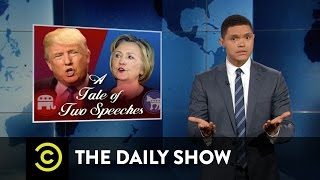 Hillary Clinton and Donald Trump React to the Orlando Shooting: The Daily Show