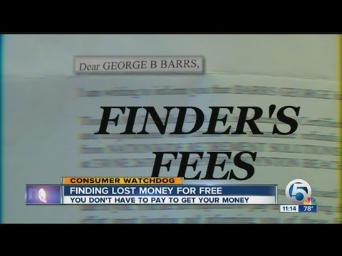 Finding lost money for free