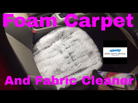 An Impressive, Economical Foam Carpet and Fabric Cleaner and Spot Remover!!! (409 Spot and Stain)