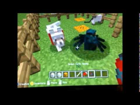 MINECRAFT XBOX360 GOLEMS AND TAMING PETS