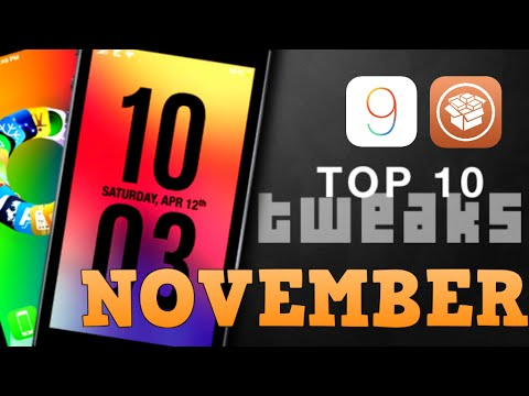 Top 10 NEW Cydia Tweaks for iOS 9 to 9.0.2 - November 2015 (PanGu Jailbreak Compatible)