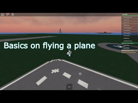 Roblox: Basics of flying a plane - RO-Force Rescue Mission 3.77 -