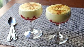 Zabaglione - Italian Warm Custard & Fruit Dessert - Valentine