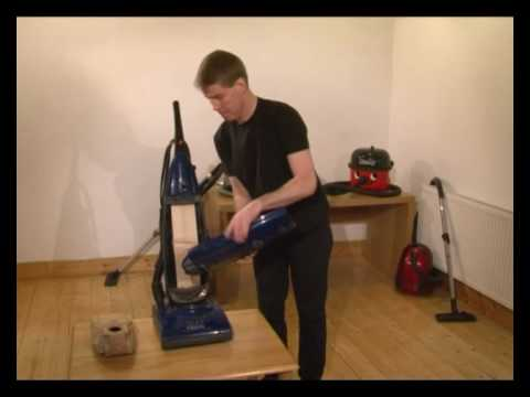 How to change the bags on your vacuum cleaner