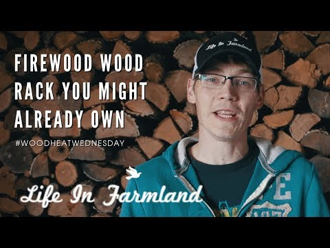 A Portable Wood Rack You Might Already Have Laying Around - Wood Heat Wednesday  - EP:8