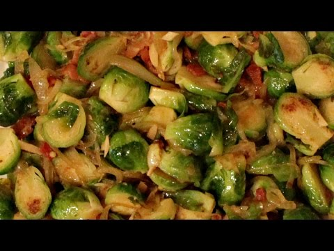 How to Make Brussel Sprouts with Bacon