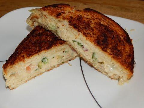 Tuna Melt Sandwich Recipe - Tuna Salad Sandwich