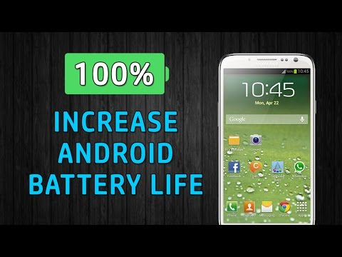 6 Tips to improve battery life on Android phones | DOUBLE Your Android Battery Life for FREE