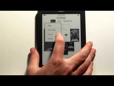 Kobo Touch Review - Kobo eReader Touch Edition