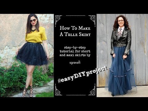how to make a tulle skirt for women_ easy DIY_elegant look_ styling ideas included