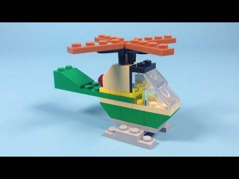 Lego Helicopter Building Instructions - Lego Classic 10696