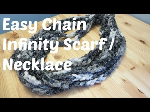 Easy Chain Infinity Scarf / Necklace