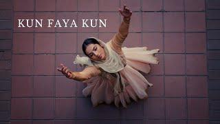 KUN FAYA KUN Dance Cover| AR Rahman | Semiclassical Sufi Choreography by Krithi Nathan | Rockstar