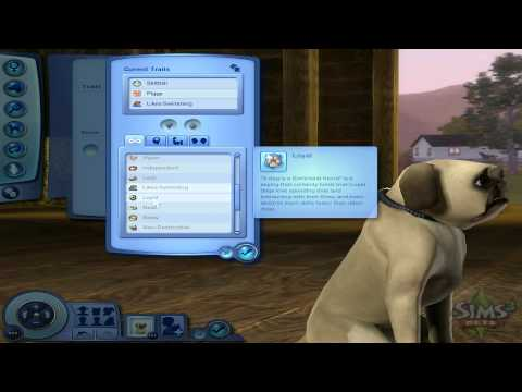 Sims 3: Pets - Create a Pet Demo (Part 2)