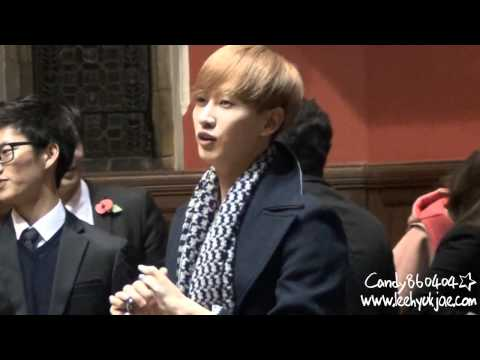 【CANDY】131110 speech in oxford university