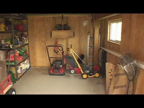 Building a Shed under a Deck